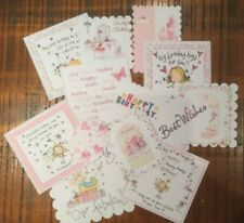 25+ Card Toppers and Scrapbooking Embellishments Birthday/ Girl/ female