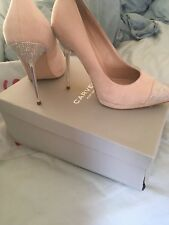 Size 5 nude and diamanté