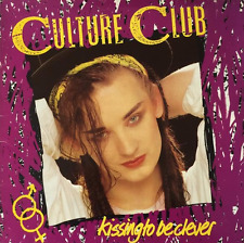 CULTURE CLUB - Kissing To Be Clever (LP) (VG/VG)