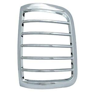 This Fits The Ford F-150 2004 - 2008 ABS Chrome Tail Light Bezels