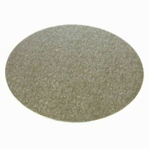 """Round Silver Double Thick Cake Boards 3mm Thick 4""""-16"""" - Pack of 1,5,10 & 25"""