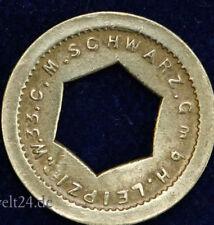 old German Token C.M.Schwarz Leipzig W33 alte Automatenmünze Spielautomatenmünze