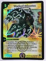 Duel Masters DM11 S1/S5 Warlord Ailzonius Blast-O-Splosion of Gigantic Rage WOTC