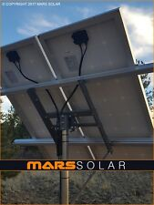 "Mars Solar V2.0 Solar Panel Rack System / 2"" (OD) Pole Mount Fits 40W - 400W"