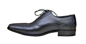 Men Real Leather Shoes Handmade Formal Dress With Real Leather Sole UK