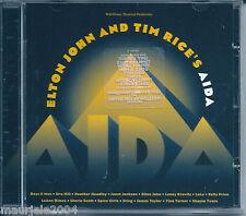Elton John & Tim Rice's. Aida. (1999) CD NUOVO Sting Spice Girls J. Taylor O:S:T