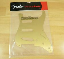 Fender Gold Anodized 57 Stratocaster Pickguard Fender Gold 8 Hole Pickguard