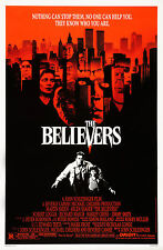 THE BELIEVERS (1987) ORIGINAL MOVIE POSTER  -  ROLLED