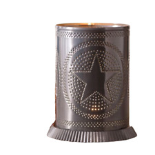 Candle Warmer Regular Star in Country Tin Electric Country Metal Farm House