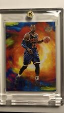 LEBRON JAMES 2017-18 Panini Court Kings AURORA ~Extremely RARE 1 Per Case ~Mint