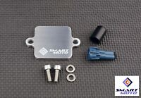 PAIR SMOG Valve Removal kit with block off plate Kawasaki ER-6n 650 2006-2017
