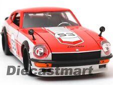 1972 DATSUN NISSAN 240Z JDM TUNERS BY JADA 99100 1:24 DIECAST MODEL CAR RED #53