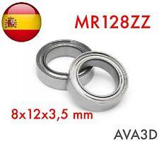Mr128zz 8x12x3,5 mm 8*12*3.5 mm rodamiento bearing mr128
