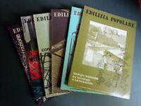 Edilizia Popolare - Annata 1977 completa - 6 numeri 134,135,136,137,138,139