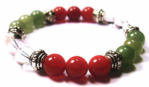 BUSINESS SUCCESS 8mm Crystal Intention Bracelet w/Description - Healing Stone