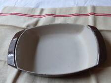cocotte LE CREUSET plat four gratin marron glacé 28 cm