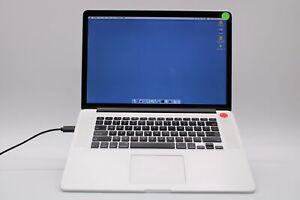 Apple MacBook Pro Retina 15 2015 MJLQ2LL/A i7 2.2GHz 16GB 1TB A1398 Good Wty 524