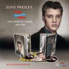 ELVIS PRESLEY - Memphis Grabación Service: The Complete Works 1953-1 NUEVO CD BO