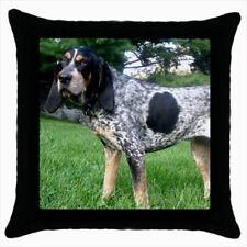 Bluetick Coonhound Throw Pillow Case - Dog Puppy