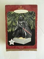 Hallmark Keepsake ornament Star Wars Darth Vader light voice NEW in box