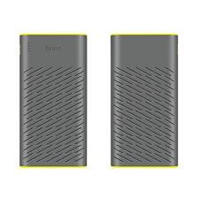 Hoco Batería adicional dual USB Powerbank 30000mah externamente cargador de gris