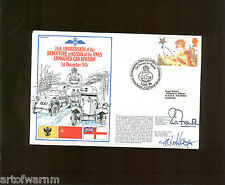 RN series 4 # 17 - 70TH ANNIV RNAS ARMOURED CARS GO TO RUSSIA 1915  Postal Cover