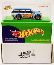 Hot Wheels '71 Datsun Bluebird 510 Wagon Car 2017 Brazil Convention USA SELLER