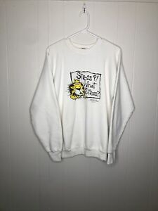 """Vintage """"Stress What Is Stress"""" Crewneck Sweatshirt Size XL. Made In USA"""