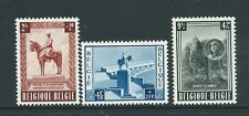 Bélgica 1954 Rey Albert Memorial Set estampillada sin montar o nunca montada Cat GB £ 80 Nice!