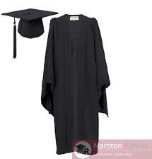 University Academic Graduation Gown and Hat BA Bachelor-UK Best Seller