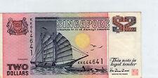 Singapore $2 Banknote VF