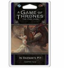Game of Thrones 2nd Ed.Cards - In Daznak's Pit Chapter Pack - New
