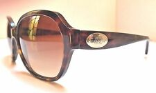 COACH Women's Sunglasses HC 8150 L133 512013 Dark Tortoise Gradient Brown Lens