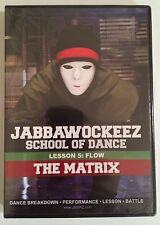 Jabbawockeez School Of Dance Lesson 5: Flow - The Matrix DVD Brand New Sealed