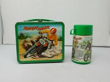 Vintage 1973 Rough Rider Metal Lunchbox & Thermos, Aladdin Industries