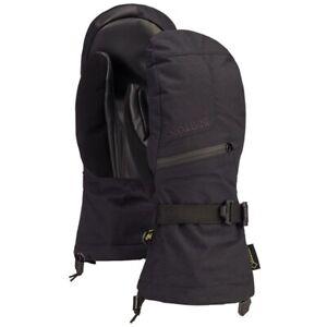 Burton Men's Gore-Tex Warm Technology Black Mittens Size M w/ Removeable Liner