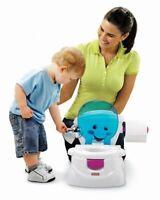 Fisher-Price MEINE ERSTE TOILETTE Töpfchen Baby Toilettensitz Toilettentrainer