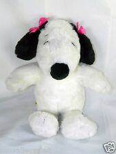 Build a Bear Peanuts Snoopy Musical Animated White Plush Dog Toy