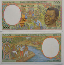 CENTRAL AFRICAN STATES (CONGO) 1000 N  Francs 2000 UNC (B12)
