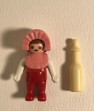 Playmobil Victorian Dollhouse Baby In Red & Pink W/ Bottle
