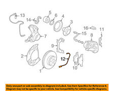 BMW OEM 06-10 550i ABS Anti-Lock Brake-Sensor 34356789492