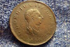 Angleterre: 1806 Demi Penny En Bon État! King George III