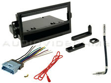 CAR STEREO RADIO DASH INSTALLATION MOUNTING TRIM KIT BEZEL WITH WIRING HARNESS