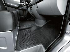 origin Mercedes Benz Fuss Fuß Gummi matte Sprinter 906 ohne Bodenkanal 2 teilig