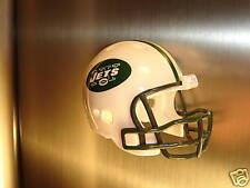 REFRIGERATOR MAGNET FOOTBALL HELMET NEW YORK JETS NFL