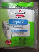 Bissell Vacuum Bags Style #7  #32120  Package of 3 bags   NEW