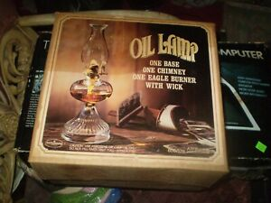 Anchor Hocking oil lamp