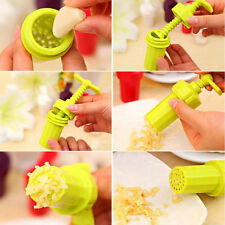 New Garlic Press Crusher Screw Squeeze Twist Presser Kitchen Tool
