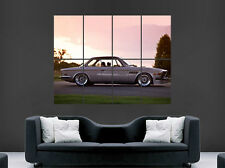 BMW RETRO CAR POSTER COUPE 1971 CLASSIC  IMAGE FAST PRINT