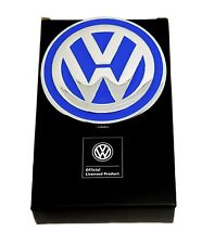 Volkswagen Belt Buckle - VW Badge Design - Blue - Authentic Officially Licensed